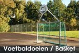 Afbeelding voor categorie Voetbaldoelen/Baskettorens
