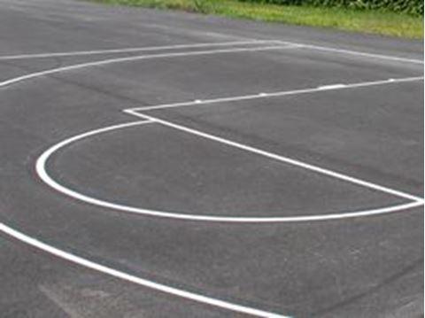 Afbeelding van Belijning basketbal