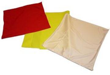 Afbeelding van Cornervlag, geel, per stuk