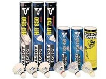 Afbeelding van Badminton pluimpjes - comp (koker/12)