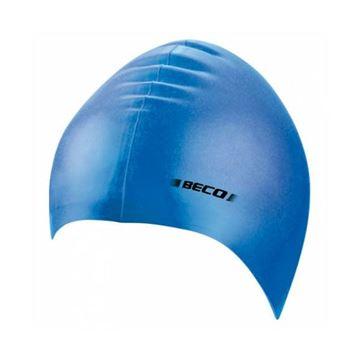 Afbeelding van Badmuts siliconen blauw