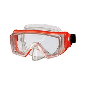 Afbeelding van Duikbril volwassene breed zicht rood