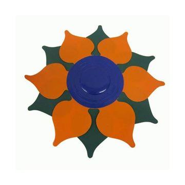 Afbeelding van Drijffiguur bloem