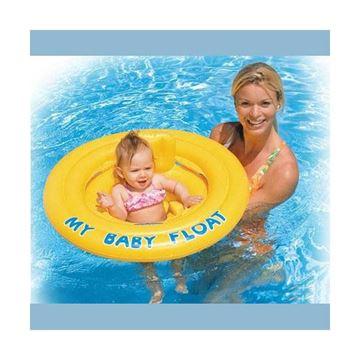 Afbeelding van Baby float geel