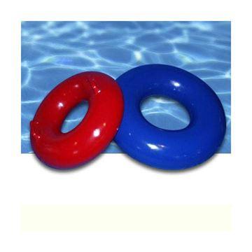 Afbeelding van Aqua zwemring met handgrepen rood