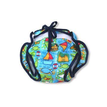 Afbeelding van Baby zwembroekje pamper model (wasbaar)