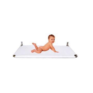 Afbeelding van Baby verzorgingstafel, wandmontage (AISI-316) 115x60cm