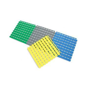 Afbeelding van Antislip mat, flexibel PVC, per tegel (connecteerbaar) 33x33x1,6cm