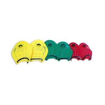 Afbeelding van Handpaddles met gaatjes, LARGE, per paar, 22x16cm