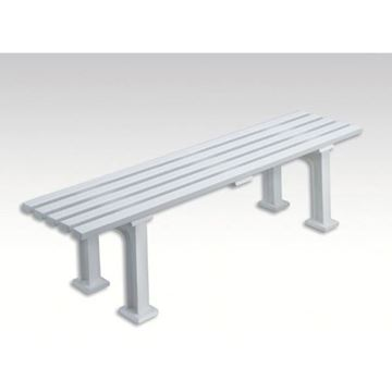 Afbeelding van Zitbank MUNICH, L 150cm, 9 kg, wit