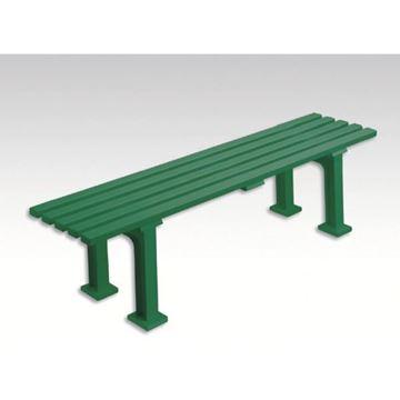Afbeelding van Zitbank MUNICH, L 150cm, 9 kg, groen